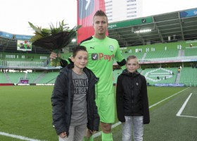 Padt Payt Man of the Match tegen AZ