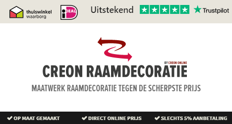 Creon raamdecoratie