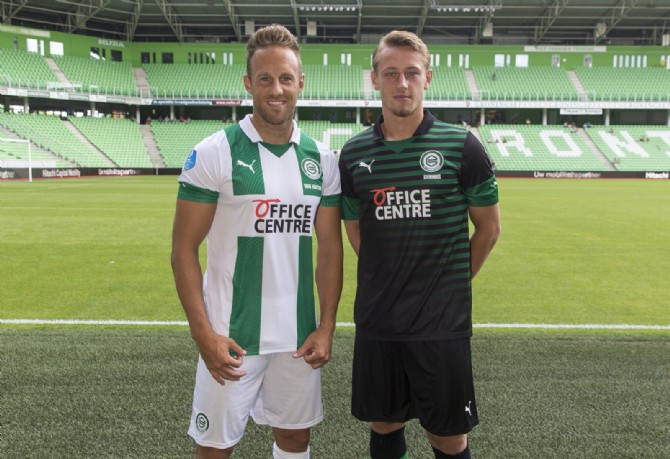 FC Groningen in nauw contact over levering shirts