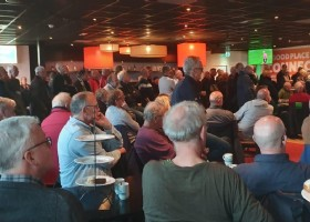 Inspirerende bijeenkomst '60-Plussers in Beweging' in TopDutch Lounge