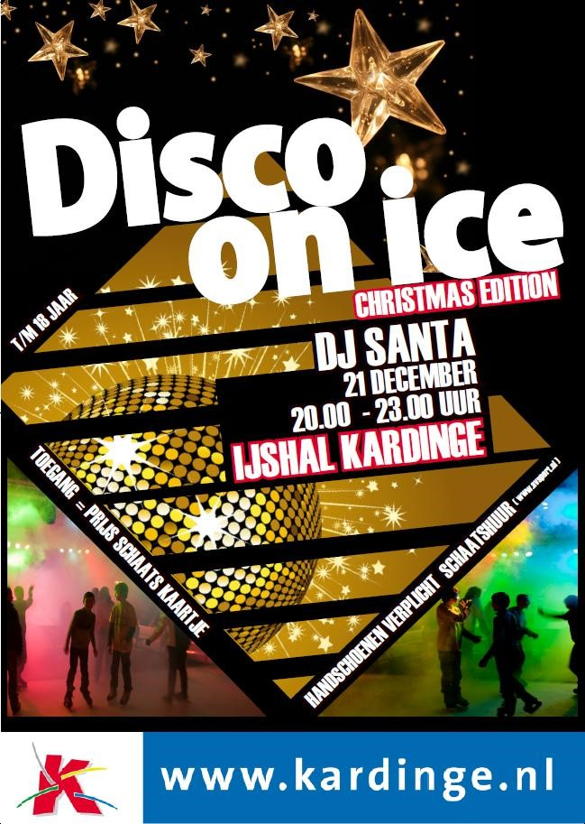 Disco on Ice, Christmas Edition!