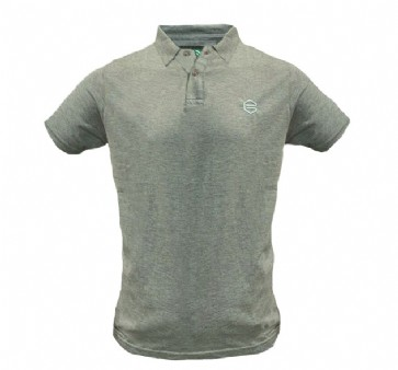 FC Groningen Polo Heather Grey